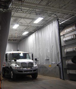 industrial acoustic curtains - AmCraft