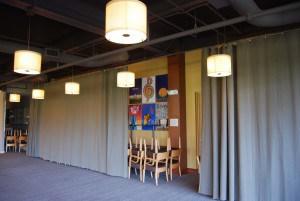 warehouse fabric curtain - AmCraft