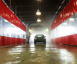 car wash curtains - AmCraft