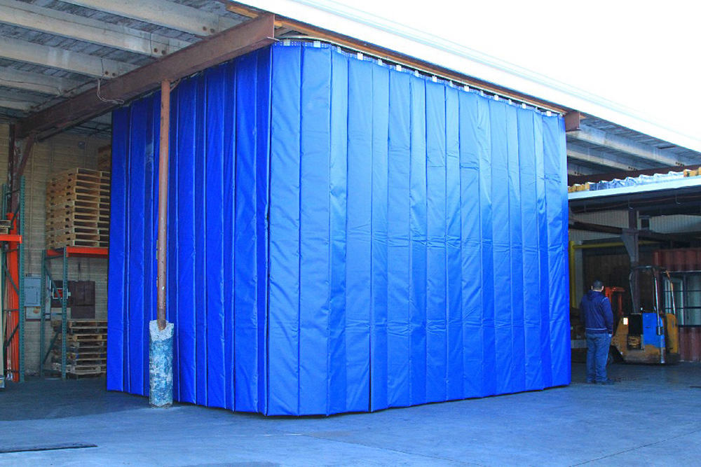 Curtain Insulation Material : Radio frequency packaging material handling rf welding