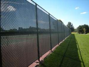 fence windscreen - AmCraft