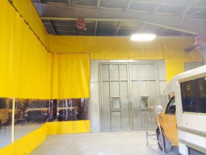 distribution separation curtain - AmCraft