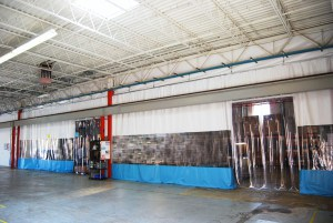 warehouse curtain wall