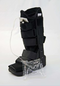medical boot with air bag