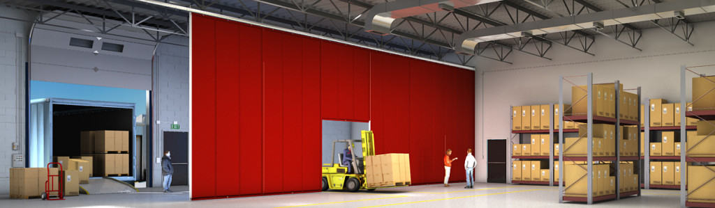 insulated curtain loading dock - AmCraft