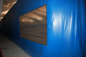 gymnasium curtains - AmCraft