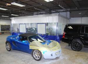 autobody paint enclosure