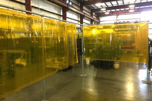 welding curtain construction - AmCraft