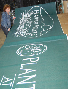 printed windscreen - Amcraft